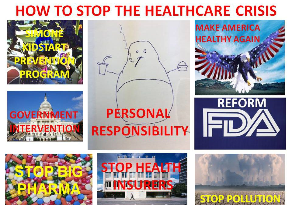 HOW TO STOP THE HEALTHCARE CRISIS
