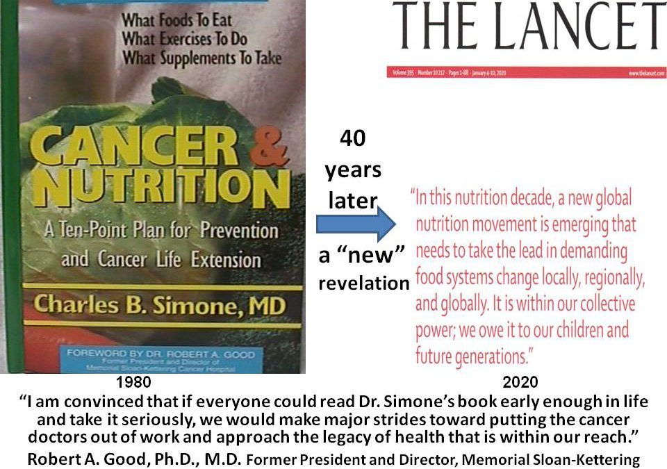 "40 YEARS LATER, A ""NEW"" REVELATION PUBLISHED IN LANCET"