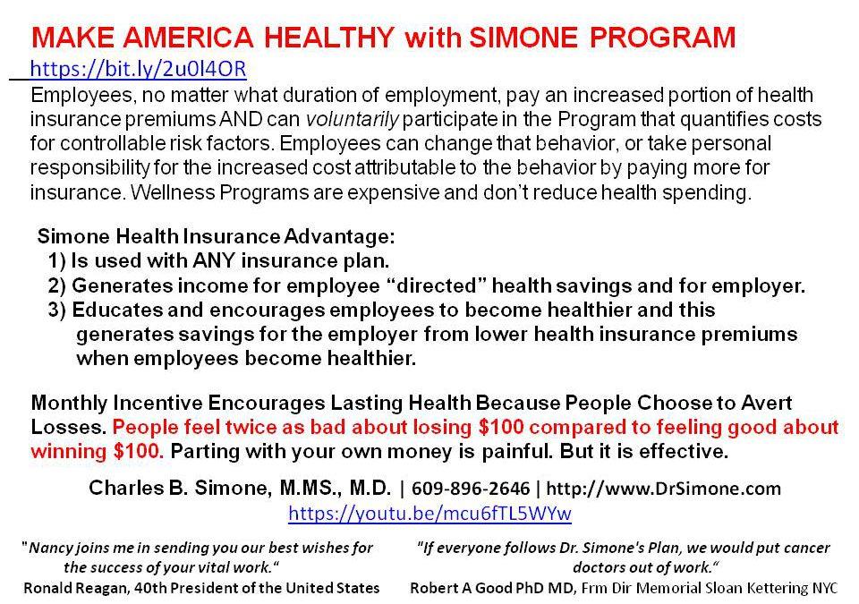 MAKE AMERICA HEALTHY