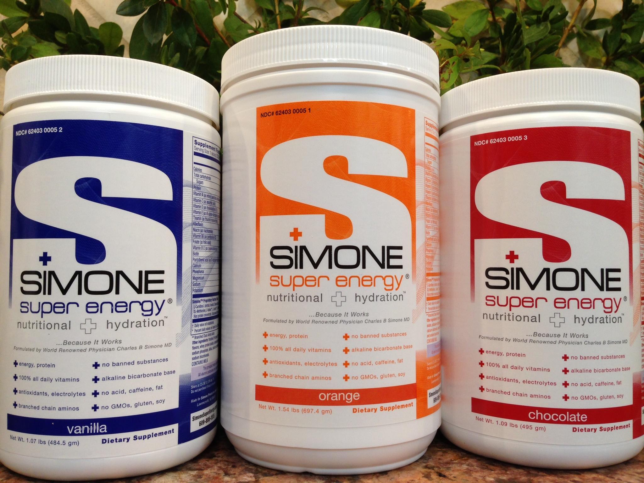 …. So Did SIMONE SUPER ENERGY Patented Formula