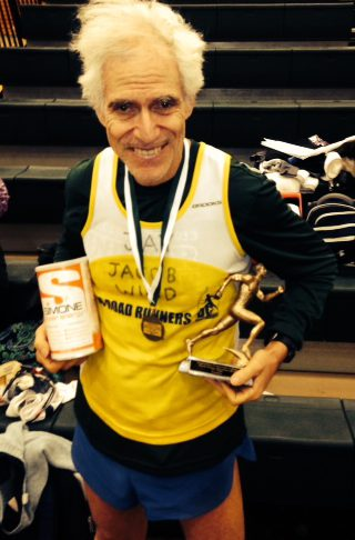 Amateur-Jay Wind 60+ record 50K