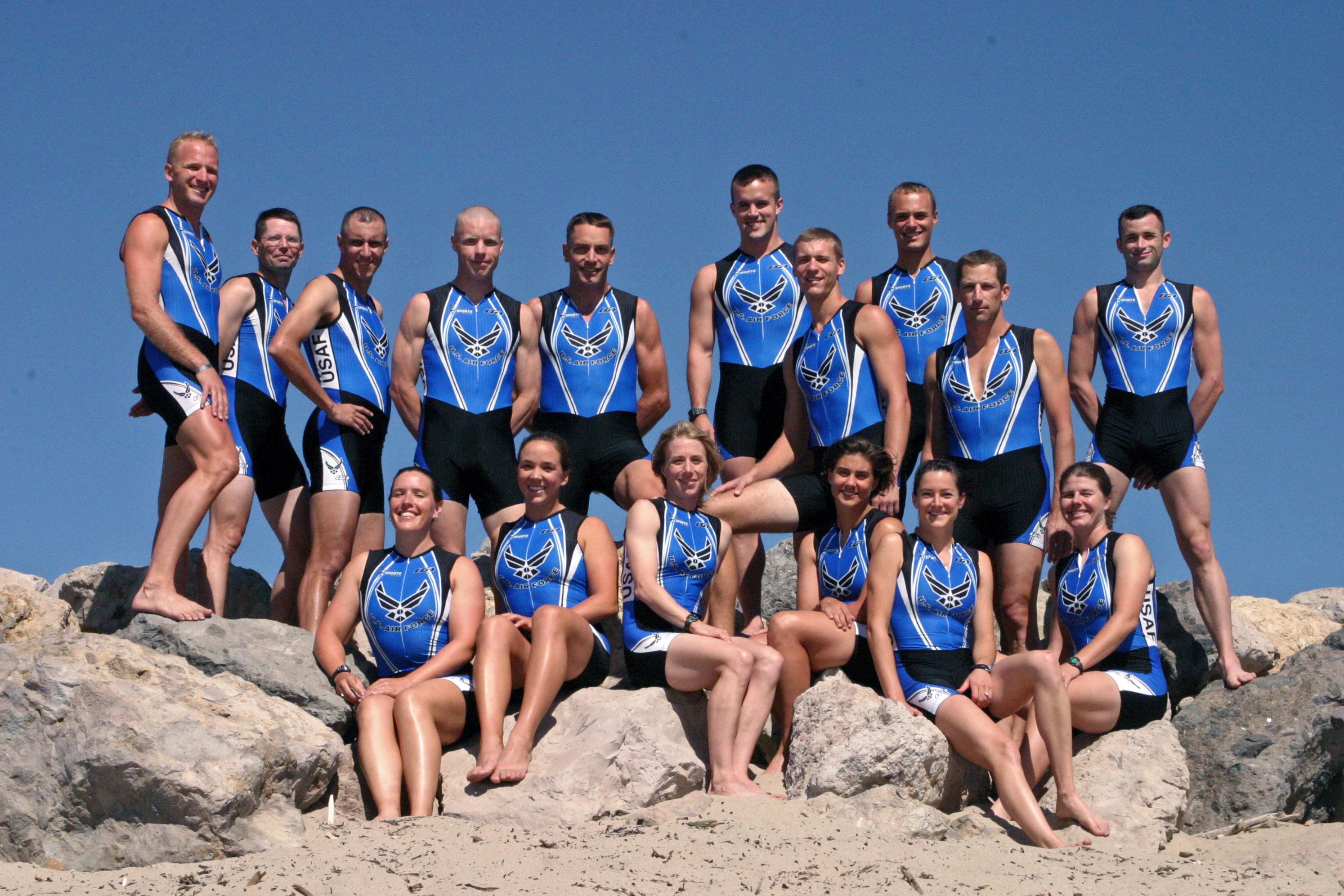 US Air Force Triathlon Team 2007