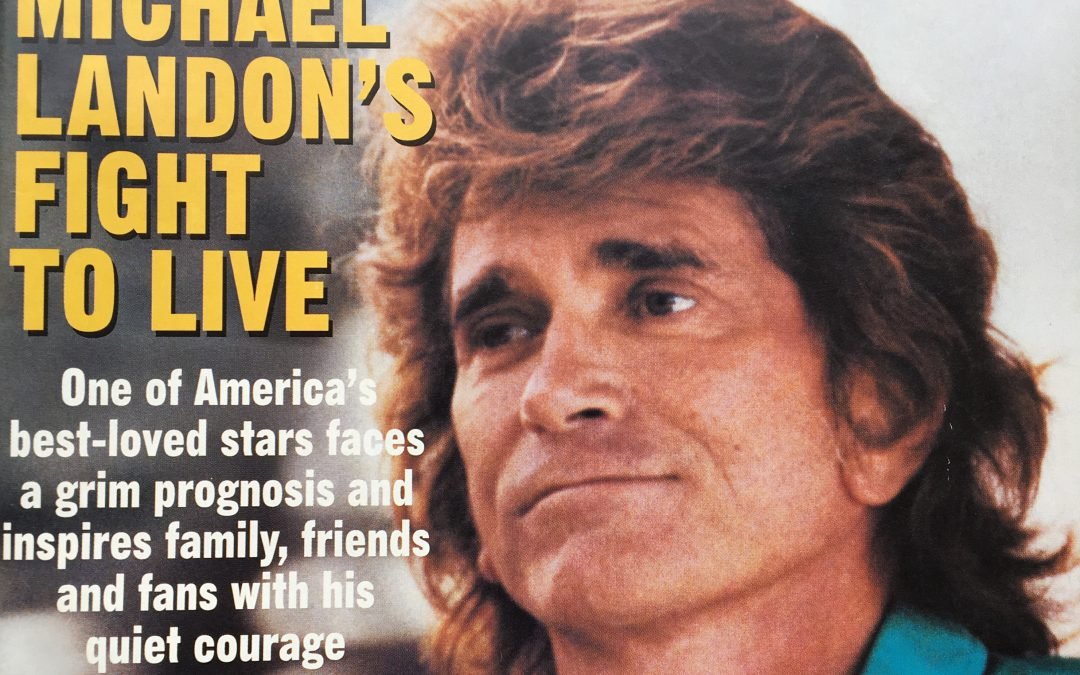 MICHAEL LANDON CONSULTED WITH CHARLES SIMONE, M.MS., M.D.