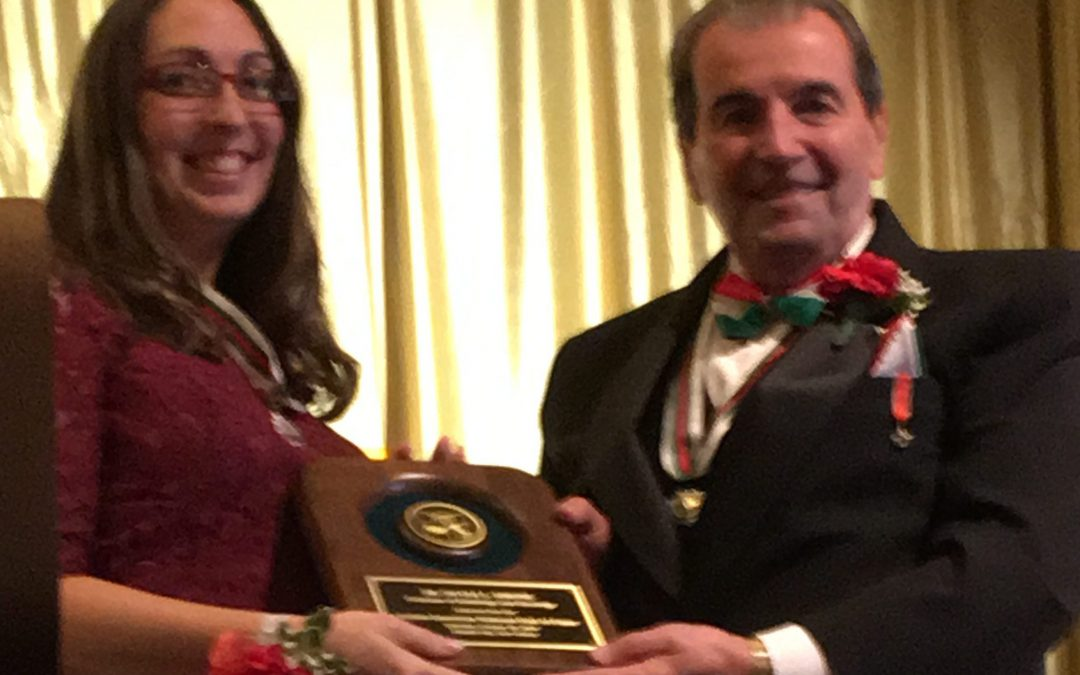 NICOLE L. SIMONE, M.D. Inducted into Italian-American National Hall of Fame