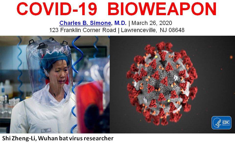 COVID-19 BIOWEAPON